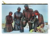 Mormon Handcart Family Monument Carry-all Pouch