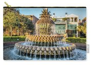 Morning At Pineapple Fountain Carry-all Pouch