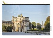 Morning At The Arc De Triomphe Du Carrousel  Carry-all Pouch
