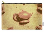Morning Breakfast Chocolate Tea Set  Carry-all Pouch