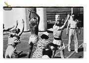 Morning Calisthenics On The Rms Queen Mary 1938 Carry-all Pouch