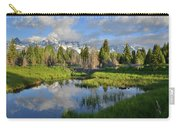 Morning Clouds Over Tetons Carry-all Pouch