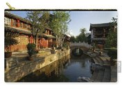 Morning Comes To Lijiang Ancient Town Carry-all Pouch