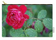 Morning Dew On A Rose Carry-all Pouch