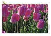 Morning Dew Tulips Carry-all Pouch