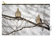 Mourning Dove Carry-all Pouch by LeeAnn McLaneGoetz McLaneGoetzStudioLLCcom