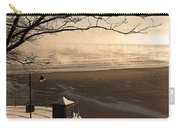 Morning Filey Beach Carry-all Pouch