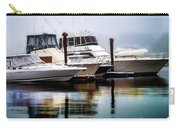Morning Fog At Boothbay Carry-all Pouch