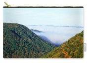 Morning Fog At Sunrise In Autumn Carry-all Pouch