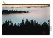 Morning Fog In Northern Saskatchewan Carry-all Pouch