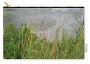 Morning Fog On Glacial Park Pond Carry-all Pouch