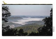 Morning Fog On Pine Mountain Carry-all Pouch