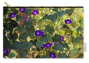 Morning Glories Carry-all Pouch by Margie Hurwich