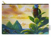 Morning Glory - St. Lucia Parrots Carry-all Pouch