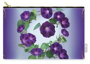 Morning Glory Design Carry-all Pouch