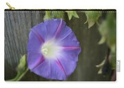 Morning Glory On Fence Carry-all Pouch