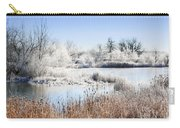 Morning Hoar Frost Carry-all Pouch