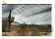 Morning In The Desert Carry-all Pouch