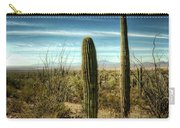 Morning In The Sonoran Desert Carry-all Pouch
