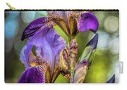 Morning Iris Carry-all Pouch