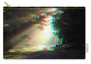 Morning Light - Use Red-cyan 3d Glasses Carry-all Pouch