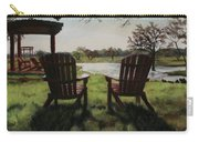 Morning Light At The Vineyard Florence Texas Carry-all Pouch
