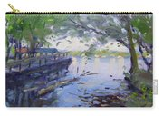 Morning Light By The River Carry-all Pouch