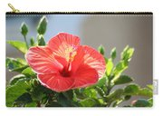 Morning Light Hibiscus Carry-all Pouch