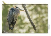Morning Light On Great Blue Heron Carry-all Pouch