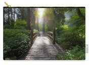 Morning Light On The Bridge Carry-all Pouch