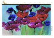 Morning Light Poppies Painting Carry-all Pouch