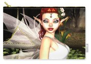 Morning Lily Fairy Carry-all Pouch