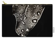 Morning Rain Sepia Toned Carry-all Pouch