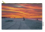 Morning Red Sky At Cape May New Jersey Carry-all Pouch