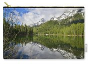 Morning Reflection On String Lake Carry-all Pouch