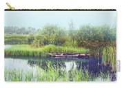 Morning River In Old Dutch Village Carry-all Pouch