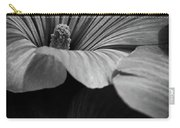 Morning Rose Mallow Carry-all Pouch