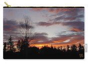 Morning Silhouetted - 1 Carry-all Pouch