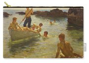 Morning Splendour Carry-all Pouch by Henry Scott Tuke