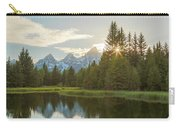 Morning Sun At Schwabachers Landing Carry-all Pouch