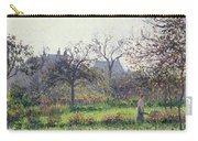 Morning Sun Carry-all Pouch by Camille Pissarro