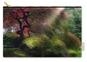 Morning Sun Rays On Old Japanese Maple Tree In Fall Carry-all Pouch