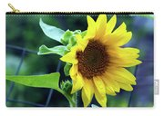 Morning Sunflower Carry-all Pouch