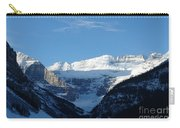 Morning Sunshine Kisses Snowy Peaks Carry-all Pouch