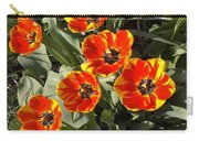 Morning Tulip Blooms    Indiana   Spring Carry-all Pouch