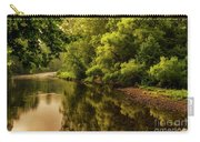 Morning Warmth Williams River  Carry-all Pouch