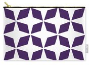 Moroccan Inlay With Border In Purple Carry-all Pouch