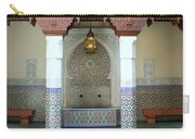 Moroccan Mosaic Tile Fountain Carry-all Pouch
