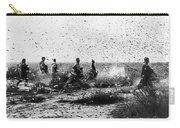 Morocco: Locusts, 1954 Carry-all Pouch