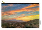 Morongo Valley Sunset Carry-all Pouch